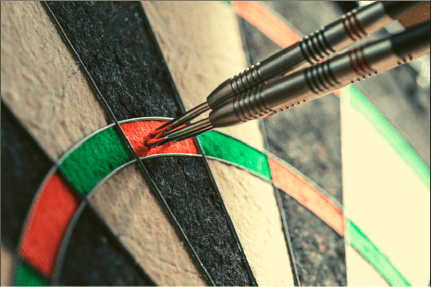 Anatomy of dartboards and darts