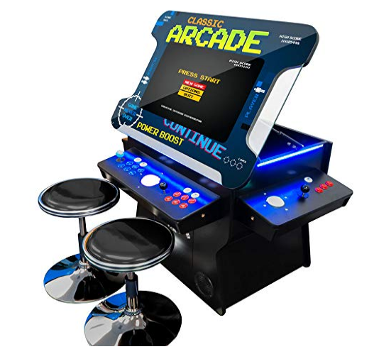 Creative Arcades Full-Size Commercial Grade Cocktail Arcade Machine