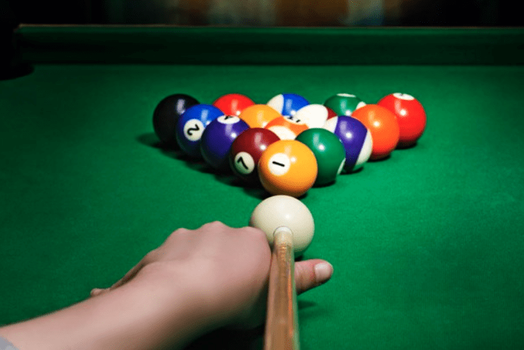 How to properly rack in straight pool