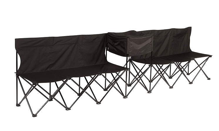Portable Folding Team Sports Sideline Bench