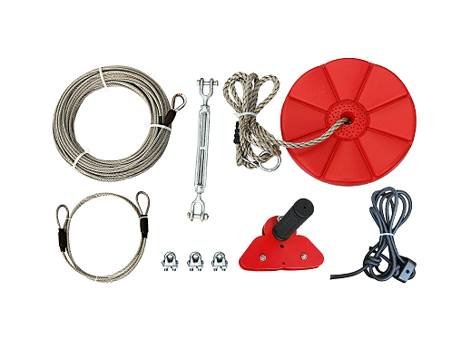 CTSC 95 Foot Zip Line Kit