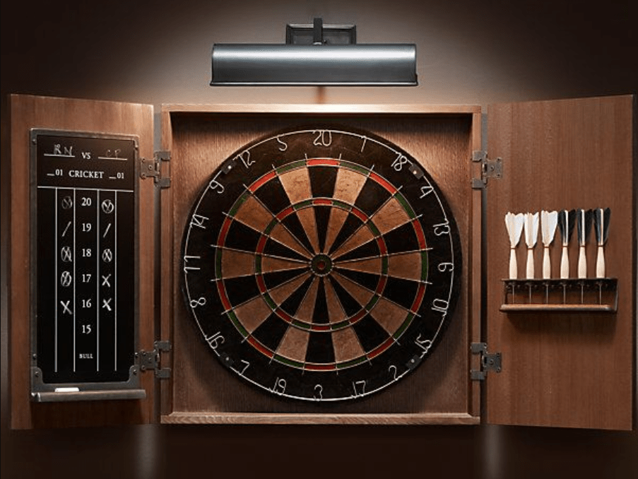 7 Best Dart Board Cabinets amp Sets to Buy in 2020 Reviews