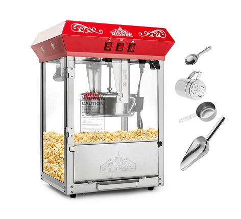 Olde Midway Bar Style Popcorn Machine Maker Popper