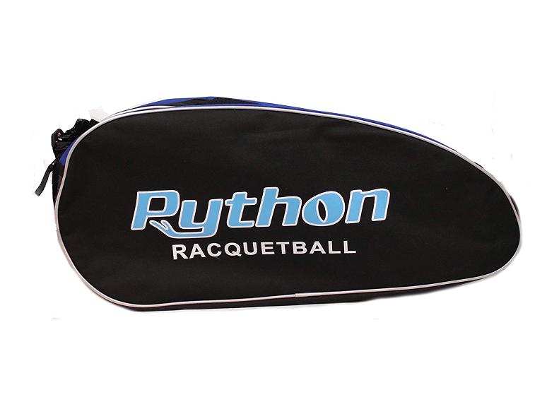 """Python Deluxe """"3R"""" (3 Racquet) Racquetball Bag"""