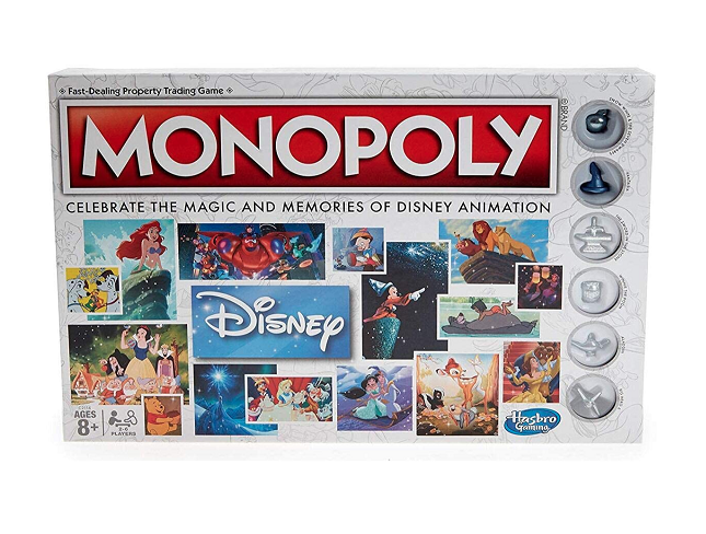 Monopoly: Disney Animation Edition Game