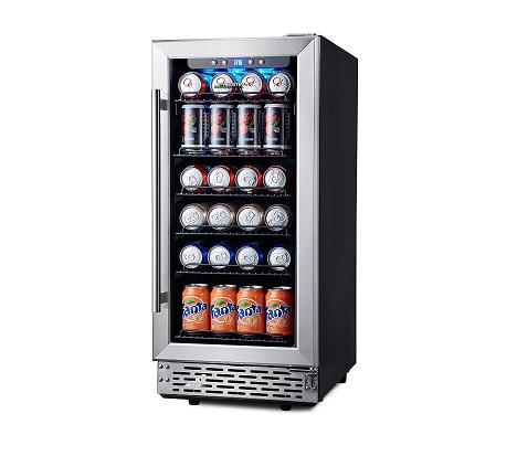 Phiestina 15 Inch Beverage Cooler Refrigerator