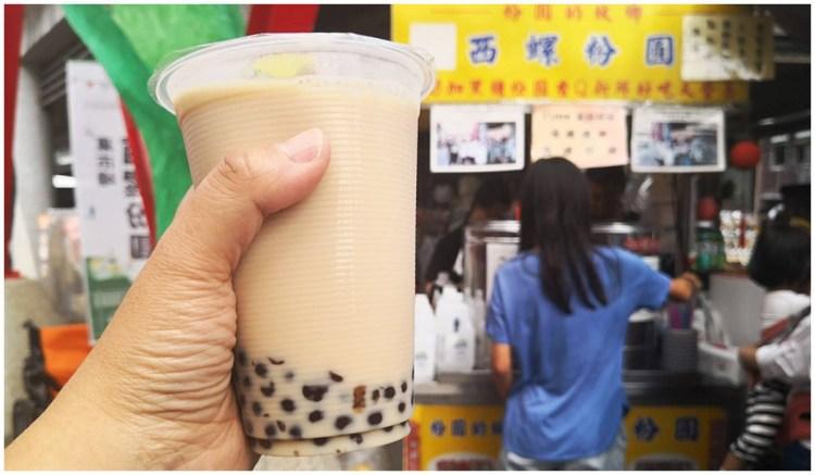 雲林西螺美食 食尚玩家推薦東市場內的西螺粉圓古早味
