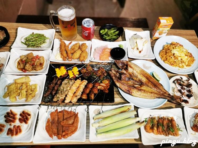 台北東區美食 台北吃到飽 串燒殿西門店  串燒烤物炸物吃到飽499元起 +99元升級生啤酒無限暢飲