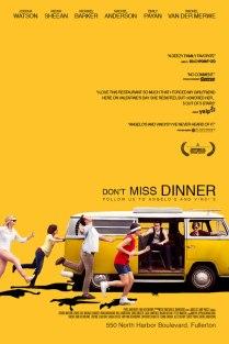 Leur version de l'affiche «Little Miss Sunshine» devenue «Don't Miss Dinner»