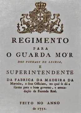 O Regimento de 1751