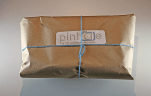 wrapped Pinhole Printed camera