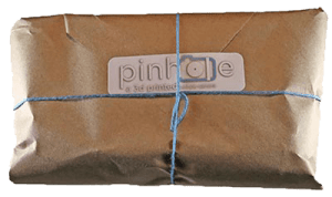 wrapped Pinhole Printed package