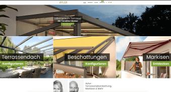 Ein neuer Onlineshop für Aylux
