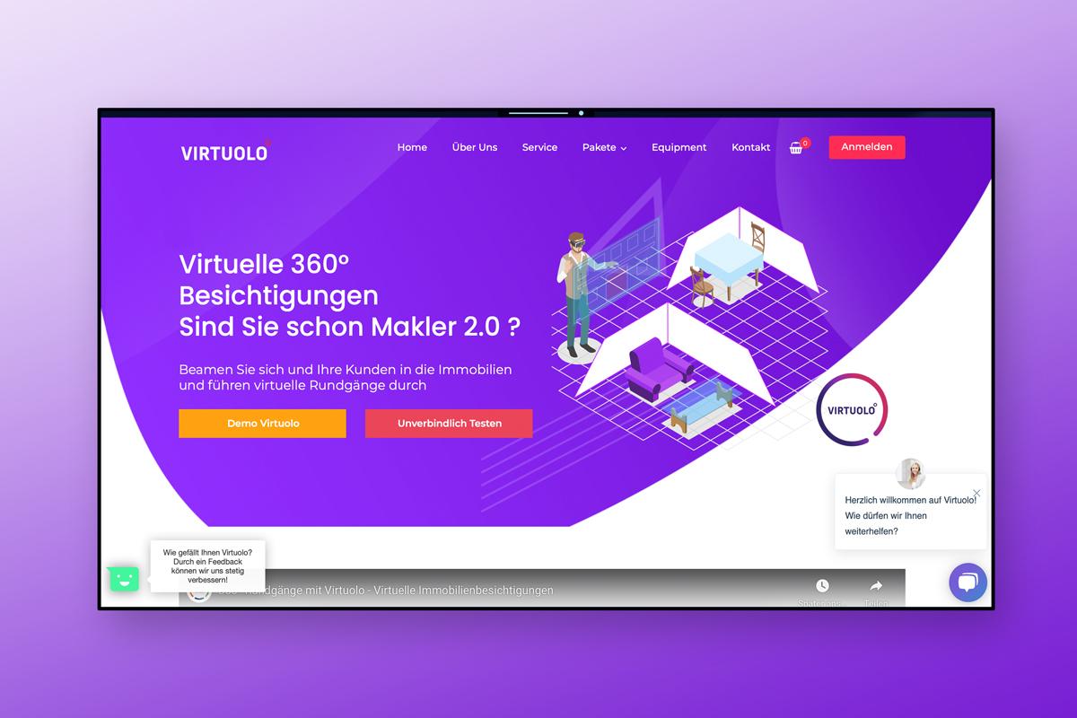 virtuolo-webseite