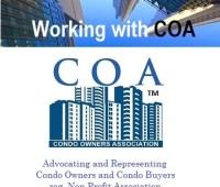 Working with COA Ontario