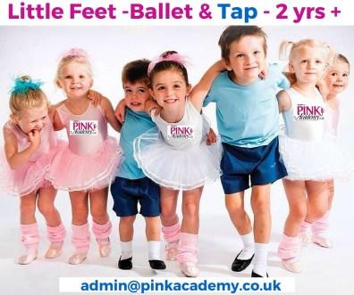 Ballet & Tap - 2 years +