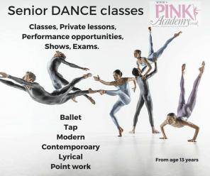 Senior DANCE classes