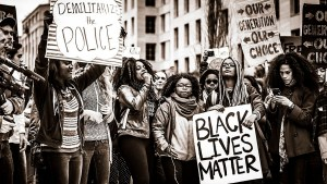 black lives matter protest rally racism