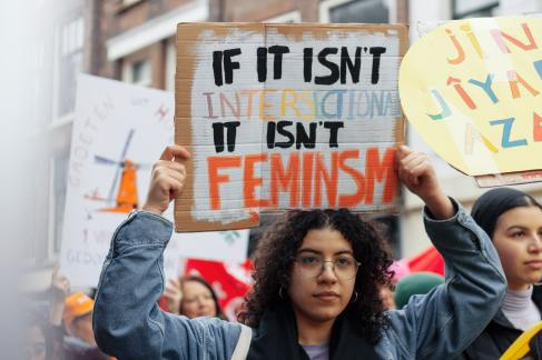 rally protest feminism