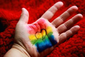 sex sexuality relationships love gender rainbow hand bodies
