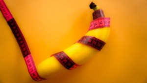 sex penis banana tape