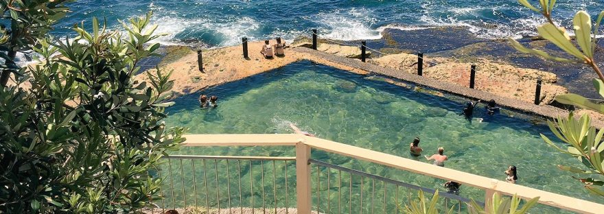 coogee mciver ladies baths pool swimming trans