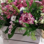 WHITE FLORAL CRATE WORKSHOP