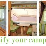 Prettify Your Camper Pink Polka Dot
