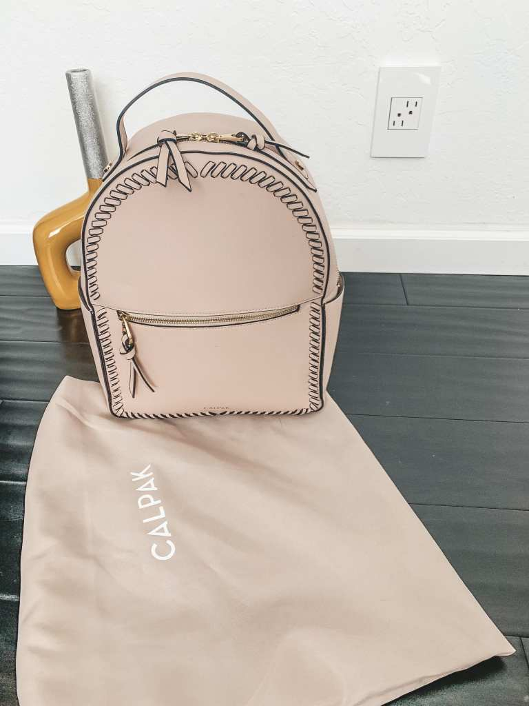 Calpak Kaya Faux Leather Backpack