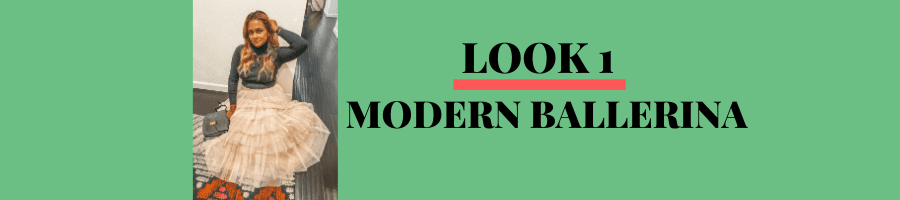 Look 1 : Modern Ballerina