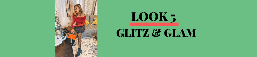 LOOK 5: GLITZ & GLAM
