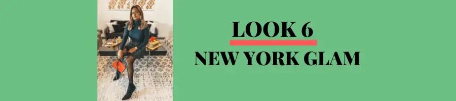 LOOK 6: NEW YORK GLAM
