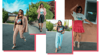 8 GRAPHIC TEE OUTFITS FOR SUMMER