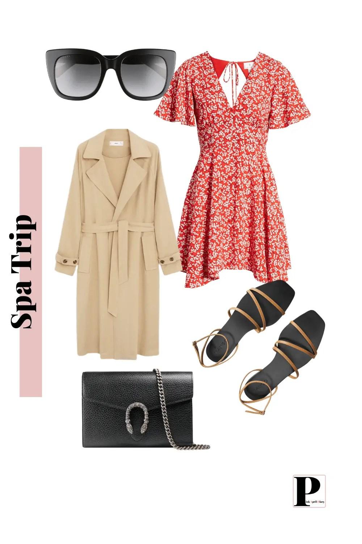 Weekend Getaway - Spa Trip - Outfit 1