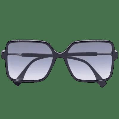 Fendi square-frame tinted sunglasses