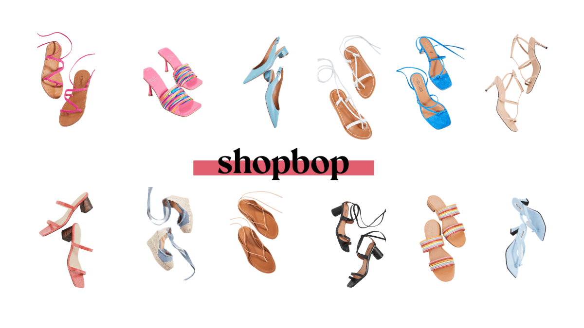 Shopbop Summer Shoe Sale Top Picks - header
