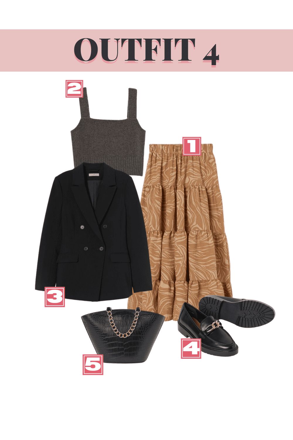 H&M Fall Top Picks - Outfit 4