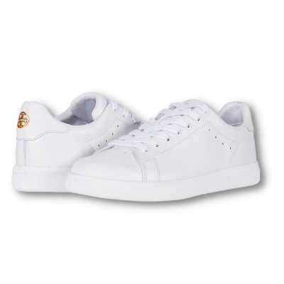 Tory Burch White Leather Sneakers