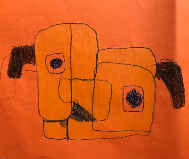 Daniel's deconstructed dog.