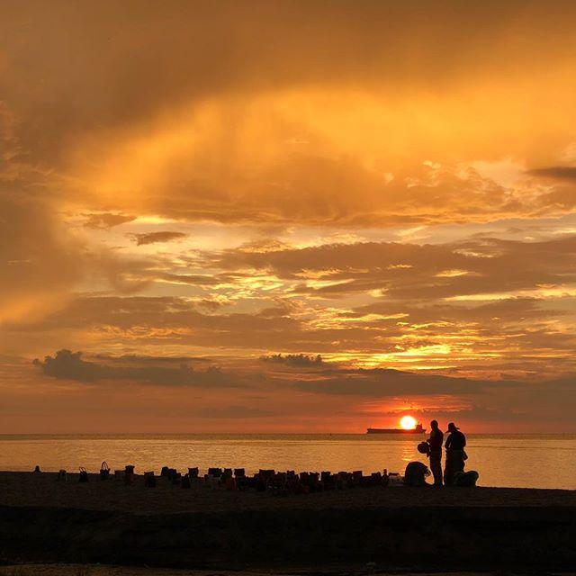 Santa Marta sunset. #nofilter