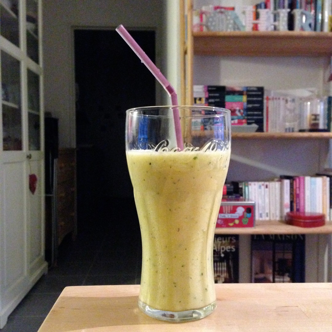 smoothie ananas menthe