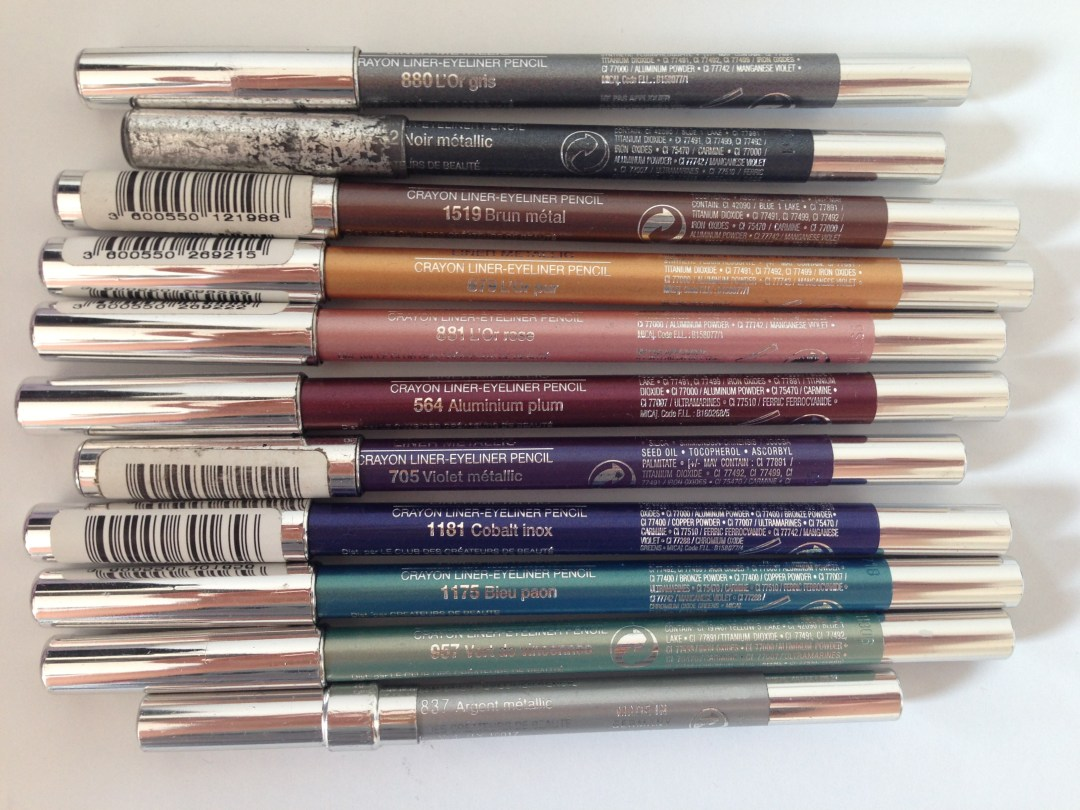collection liners metallic