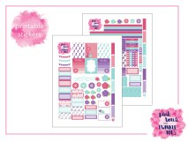 PBTT Garden Party Sticker Kit Two Pages