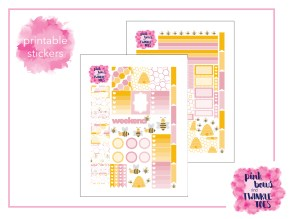 PBTT Honey Bee Sticker Kit Two Page
