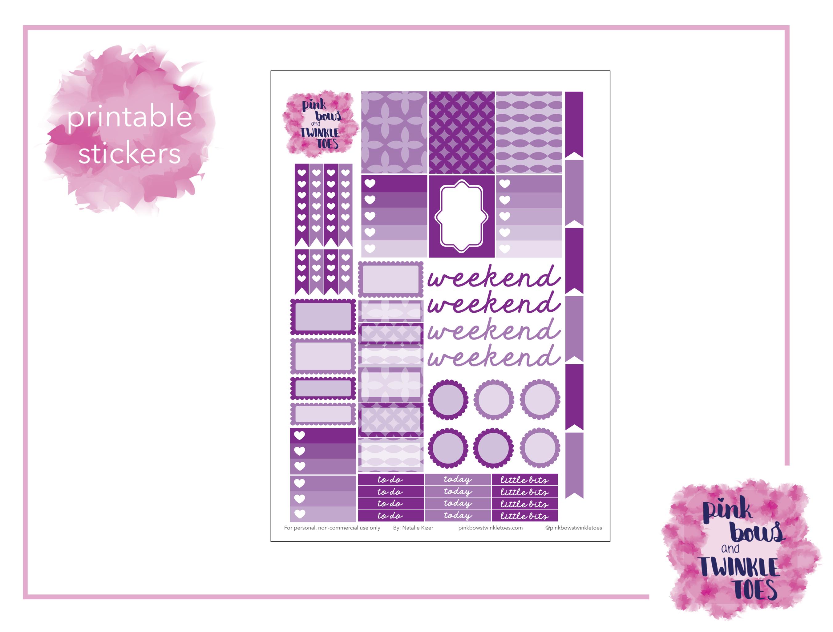 photo regarding Free Printable Functional Planner Stickers titled September Sensible Planner Stickers: Cost-free Printable - Crimson