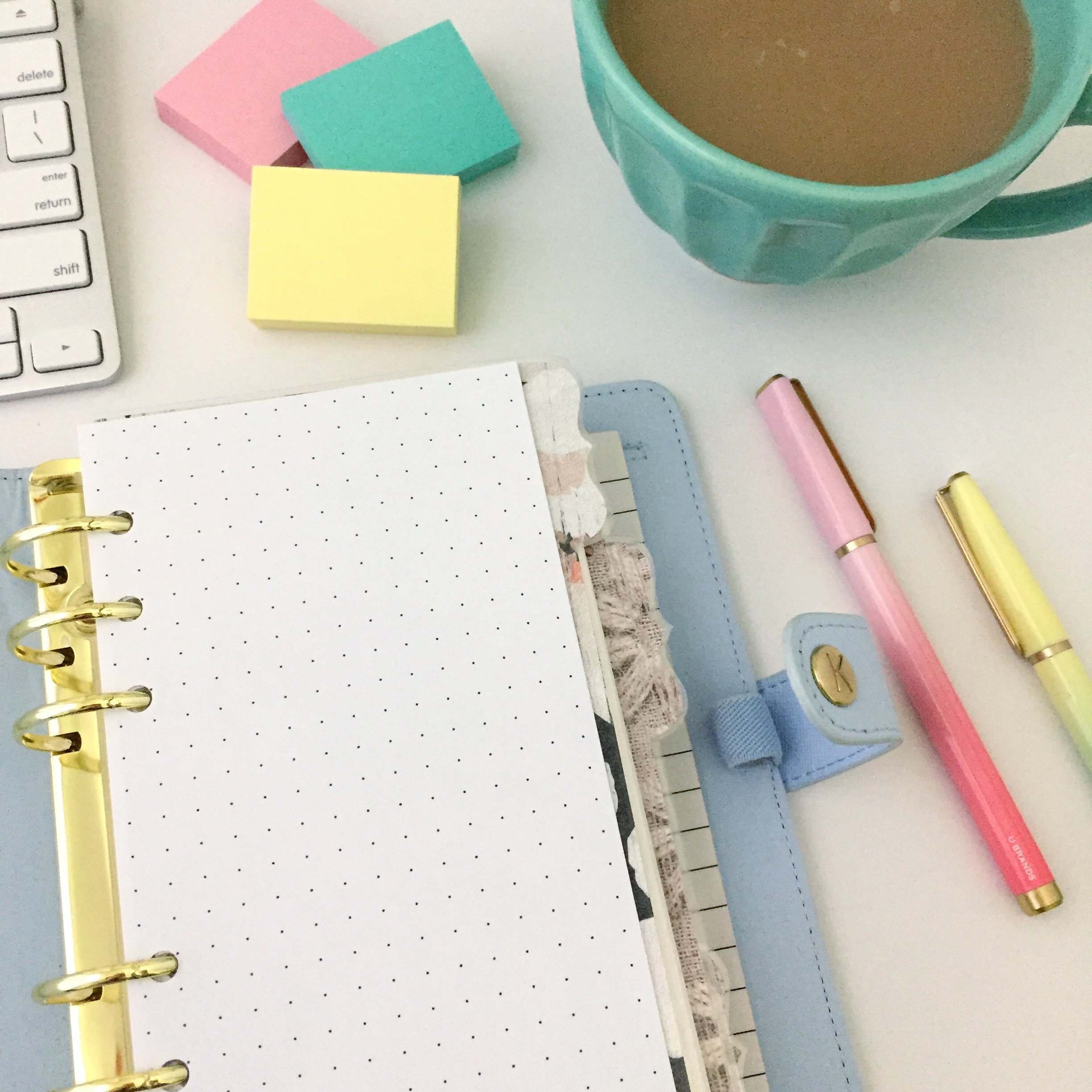 Dot Grid Insert Free Personal Size Planner Printable