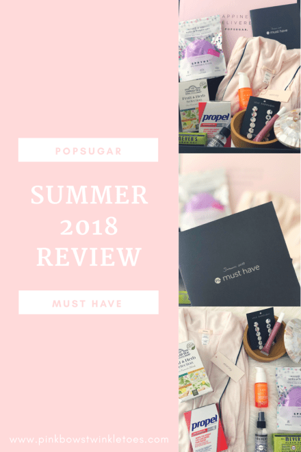 POPSUGAR Must Have Summer 2018 Review - Pink Bows & Twinkle Toes