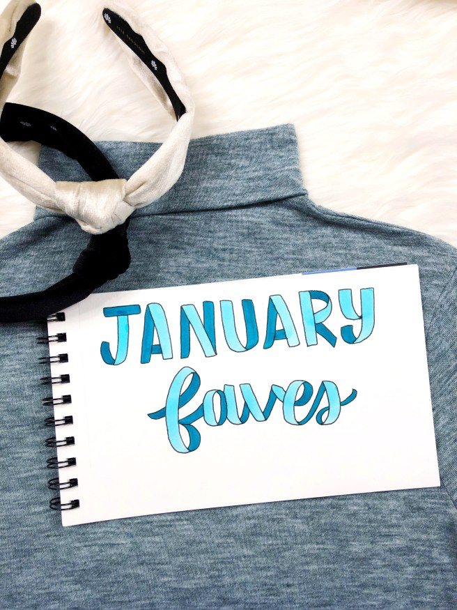 January Favorites - Pink Bows & Twinkle Toes