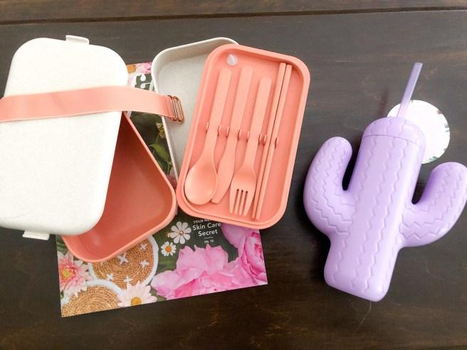 FabFitFun Kitchen Items - Pink Bows & Twinkle Toes