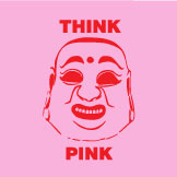 ThinkPINKsticker